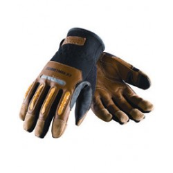 Protective Industrial Products (PIP) - 120-4100/L-CA - Protective Industrial Products Large Maximum Safety Nylon/Spandex With Goatskin Leather Palm And Fingertip Coating, ( Case of 72 )