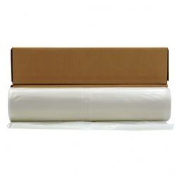 Poly-america - CF0220200C - Poly-America 20' X 200' Clear 2 mil Polyethylene Husky Plastic Sheeting, ( Roll )