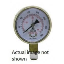 Radnor Welding - 64003435-EA - Radnor 2 X 200 PSI Brass Replacement Regulator Gauge, ( Each )