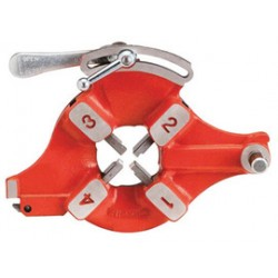 RIDGID - 26147 - Ridgid 913 Series 1/4' - 2' BSPT Universal Quick-Opening Left Hand Die Head (For Model 1224 Threading Machine), ( Each )