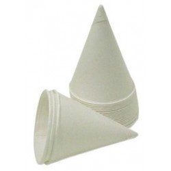 Sqwincher - 200215 - Sqwincher 4.5 Ounce White Paper Cone Cup With Rolled Lip (5000 Cups Per Case), ( Case )