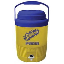Sqwincher - 400102-EA - Sqwincher 2 Gallon Yellow And Blue Cooler, ( Each )