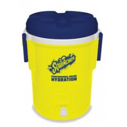 Sqwincher - 400104 - Sqwincher 5 Gallon Yellow And Blue Cooler, ( Each )