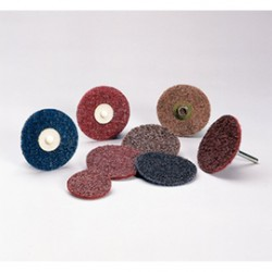 3M - 66000000985-BX - Standard Abrasives 5 X 5/8 X 11 80 - 120 Grit Medium Aluminum Oxide Surface Conditioning Disc, ( Box of 10 )