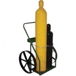 Saf-T-Cart - SC-13 - Saf-T-Cart 20' X 2 1/2' 200 lb Steel Wheel With (6) Steel Spokes And 3/4' Plain Bearing, ( Each )