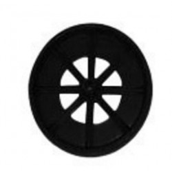 "Saf-T-Cart - SC-7 - Saf-T-Cart 10"" X 2 3/4"" 200 lb Polyolefin Wheel With 5/8"" Plastic Bearing (For Cylinder Truck)"