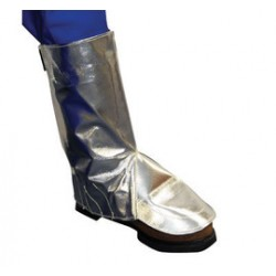 Stanco - ACK27 - Stanco Safety Products One Size Fits Most Silver Aluminized Carbon KEVLAR Heat Resistant Spats, ( Pair )