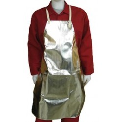 Stanco - ACK36B - Stanco Safety Products 24 X 36 Silver Aluminized Carbon KEVLAR Heat Resistant Apron, ( Each )