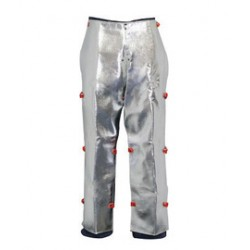 Stanco - ACK505VC - Stanco Safety Products 24 X 39 Silver Aluminized Carbon KEVLAR Heat Resistant Chaps, ( Pair )