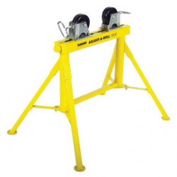 Sumner - 780373 - Sumner Manufacturing Company ST-704 Adjust-A-Rolls 24' Low Jack Pipe Stand With Stainless Steel Wheels, ( Each )