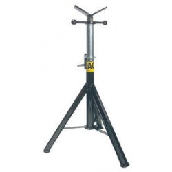 """Sumner - 780474 - Sumner ST-874 Pro-Jack 28"""" - 49"""" High Jack Pipe Stand With Stainless Steel Rollers"""