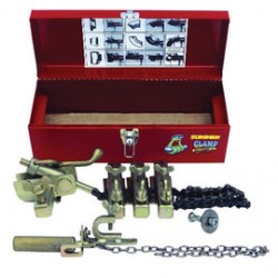 Sumner - 780997 - Sumner Manufacturing Company ST-216 Clamp Champ Pipe Alignment And Clamping Tool Kit (Includes Metal Carrying Box, Main Block And Chain, (5) Jack Bars And Instruction Manual), ( Each )