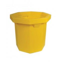 Ultratech - 1040 - UltraTech 32 1/2 X 27 1/4 Ultra-Spill Collectors Yellow Polyethylene Spill Collector, ( Each )