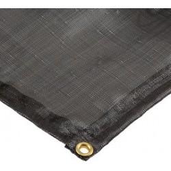 Ultratech - 8311 - UltraTech 11' X 11' Ultra-Containment Berms Black Copolymer 2000 Ground Tarp Berm, ( Each )
