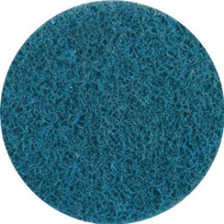 United Abrasives - 77209-CA - United Abrasives 2 Very Fine Grade Aluminum Oxide SAIT-Lok Blue Non-Woven Surface Conditioning Disc, ( Case of 500 )