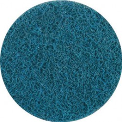 United Abrasives - 77215-CA - United Abrasives 3 Very Fine Grade Aluminum Oxide SAIT-Lok Blue Non-Woven Surface Conditioning Disc, ( Case of 250 )