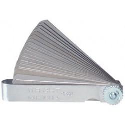 Wright Tool - 9529 - Wright Tool Metric Feeler Gauge With (25) Blade