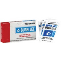 Water-Jel - 100U-6-CA - Water-Jel Technologies 3.5 Gram Burn Jel Topical Burn Gel, ( Case of 100 )