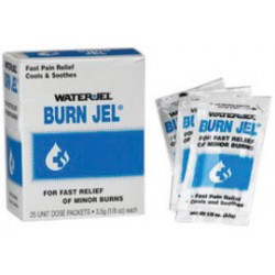 Water-Jel - 600U-1-CA - Water-Jel Technologies 3.5 Gram Burn Jel Topical Burn Gel, ( Case of 24 )