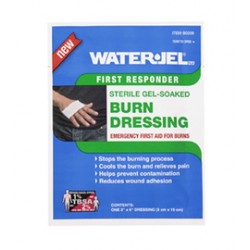 Water-Jel - B0206-60.00.000-BX - Water-Jel Technologies 2 X 6 Burn Dressing, ( Box of 15 )