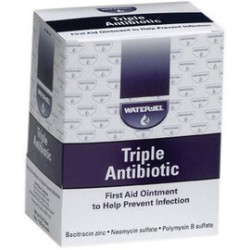 Water-Jel - WJTA1728-BX - Water-Jel Technologies .9 Gram Antibiotic Ointment, ( Box )
