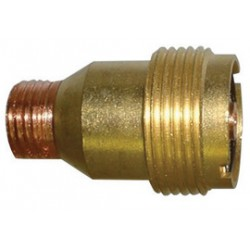"WeldCraft - 11GL16 - Weldcraft Brass And Copper 1/16"" Gas Lens Collect Body For 350 Amp AC/500 Amp DC Water Cooled WP-12 Torch"