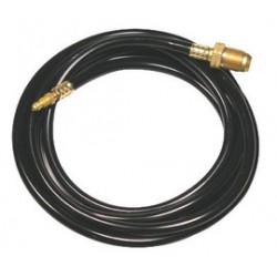 WeldCraft - 45V04RR - Weldcraft 25' Rubber Red Braided Power Cable For WP-20, WP-20P, WP-20V, WP-24W, WP-25, SF-225 And MT-125 Torch, ( Each )