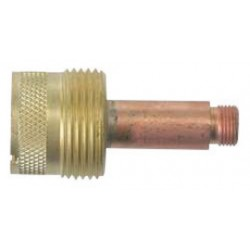 WeldCraft - 45V116-PK - Weldcraft Brass And Copper 1/16 Large Diameter Gas Lens Collet Body For WP-17, WP-17V, WP-18, WP-18V, WP-26 And WP-26V Torches, ( Pack of 2 )