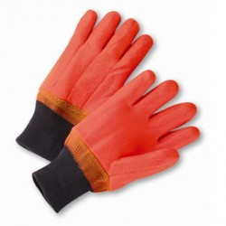 West Chester - 1007ORF-DZ - West Chester Large PVC Work Gloves With Foam Over Jersey Liner And Knit Wrist, ( Dozen of 12 )