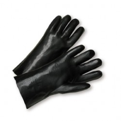 West Chester - 1027L-CA - West Chester Ladies PVC Work Gloves With Interlock Liner And Slip On Cuff, ( Case of 72 )