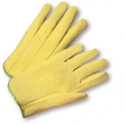 West Chester - 203/L-CA - West Chester Large PVC Work Gloves With Woven Liner And Slip On Cuff, ( Case of 300 )