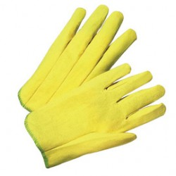 West Chester - 203/M-DZ - West Chester Medium PVC Work Gloves With Woven Liner And Slip On Cuff, ( Dozen of 12 )