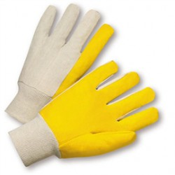 West Chester - 205-CA - West Chester Large PVC Work Gloves With Cotton Liner And Knit Wrist, ( Case of 300 )