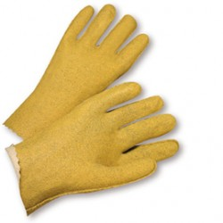 West Chester - 3115/L-CA - West Chester Large PVC Work Gloves With Jersey Liner And Slip On Cuff, ( Case of 120 )