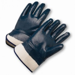 West Chester - 4550FC-CA - West Chester Large Nitrile Work Gloves With Jersey Liner And Safety Cuff, ( Case of 120 )