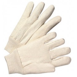 West Chester - 708-DZ - West Chester Natural Large Cotton And Polyester General Purpose Gloves With Knit Wrist, ( Dozen of 12 )