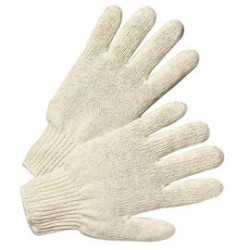 West Chester - 708S-PR - West Chester Natural Large Cotton And Polyester General Purpose Gloves With Knit Wrist, ( Pair )