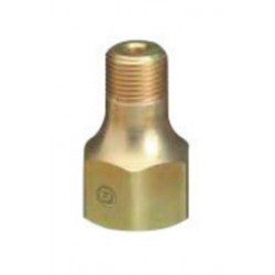 "Western Enterprises - B-660-SS - Western Refrigerant Gas 1.030"" - 14 NGO RH Male X 1/4"" NPT Male Stainless Steel Valve Outlet, CGA-660"