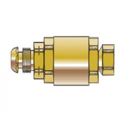 Western Enterprises - FA-510CV - Western POL Acetylene Flashback Arrestor With Adapter And Inlet Check Valve