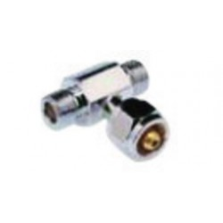 Western Enterprises - M54-16 - Western Female X Male Chrome Plated Brass Coupler Tee, CGA-540, ( Each )