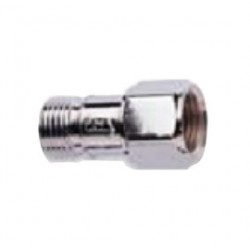 Western Enterprises - MCV-1 - Western 'B' RH 9/16' - 18 Male X Female Chrome Plated Brass Reverse Flow Check Valve, ( Each )