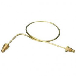 Western Enterprises - P-15CV - Western Propane And MAPP LH Male X 20' Brass Horizontal Rigid Pigtail With Check Valve, CGA-510, ( Each )
