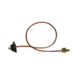 Western Enterprises - PHC-93 - Western Industrial Air LH Male X 36' Rigid Pigtail With Brass Connections And Hand Tight Nut, CGA-590, ( Each )
