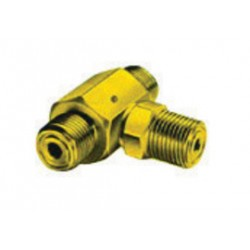 Western Enterprises - T3-510 - Western CGA-510 Female LH Brass 500 psig 3 Way Manifold Coupler Tee