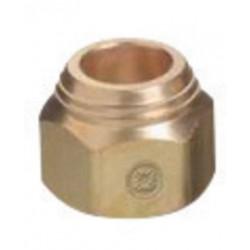 Western Enterprises - TN1-1 - Western TN1-1 7/8' - 20 Brass Tip Nut, ( Each )