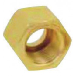 "Western Enterprises - WHF-3-30 - Western 1"" - 11 1/2 NPS Female LH X 1 3/4"" L Brass 3000 psig Manifold Union Nut"