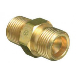Western Enterprises - WMS-1-64 - Western CGA-280 1/2' NPT Male Check Valve X 0.745' - 14 NGO Male RH Brass 3000 psig Outlet Adapter (For Manifold Pipelines), ( Each )