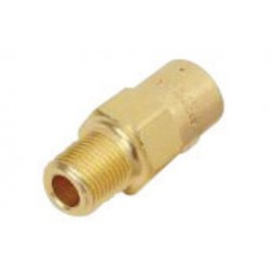 Western Enterprises - WMV-4-400 - Western 400 psi 1/4 NPT Male Brass Relief Valve With Weep Hole, ( Each )