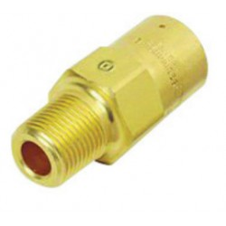 "Western Enterprises - WMV-8-375 - Western 375 psi 1/2"" NPT Male X 1/2"" NPT Female Brass Safety Relief Valve With 5/16"" Orifice"