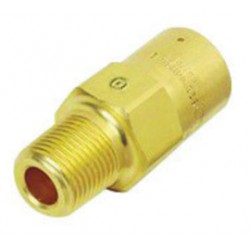Western Enterprises - WMV-8-7 - Western 1/2' NPT Inlet Relief Valve Brass 5 - 100 psig Pipe Away Adapter, ( Each )